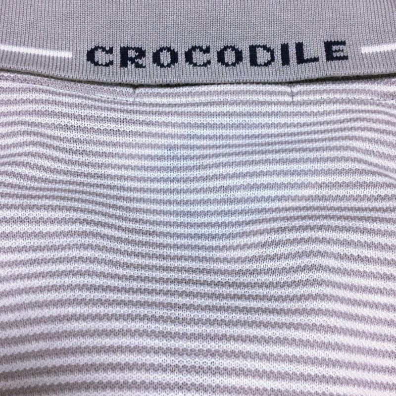 《郵送無料》■Ijinko◆☆新品☆クロコダイル Crocodile日本製 M サイズ半袖ポロシャツ