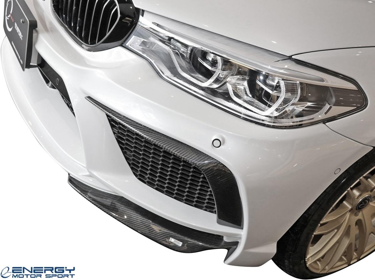【M's】 G30 5シリーズ セダン (2017y-) ENERGY MOTOR SPORT EVO G30.1 フロント バンパーキット / BMW エナジーモータースポーツ エアロ_画像5