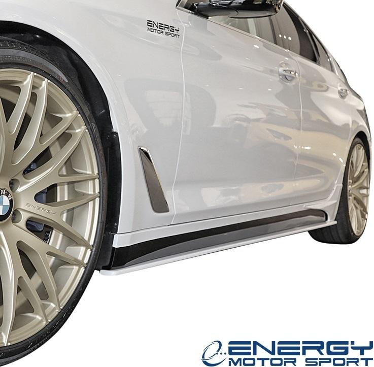 【M's】G30 5シリーズ セダン (2017y-) ENERGY MOTOR SPORT EVO G30.1 サイドスポイラー + スパッツ LR // BMW エナジーモータースポーツ_画像2