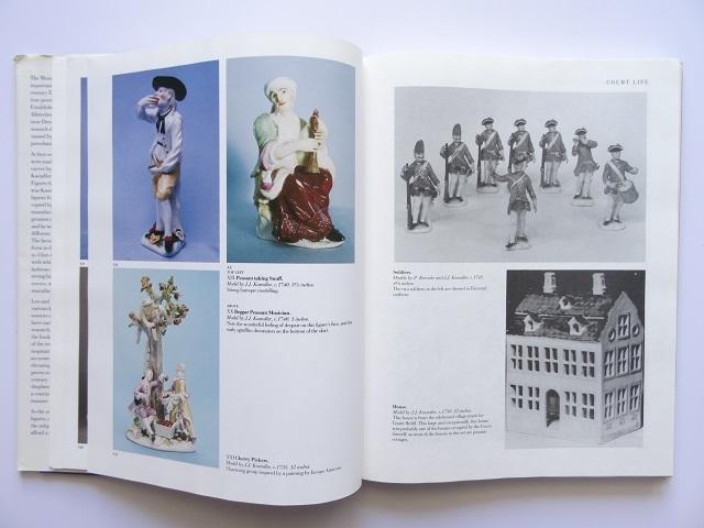 洋書◆マイセン人形の写真集 本 アンティーク フィギュア 陶磁器 工芸品_画像5