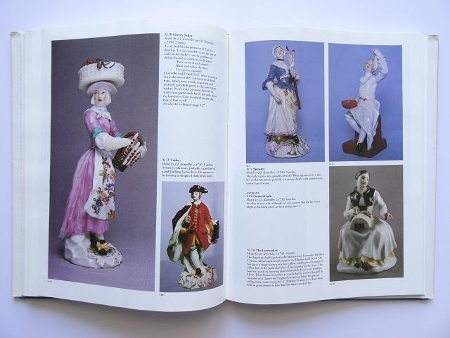 洋書◆マイセン人形の写真集 本 アンティーク フィギュア 陶磁器 工芸品_画像8