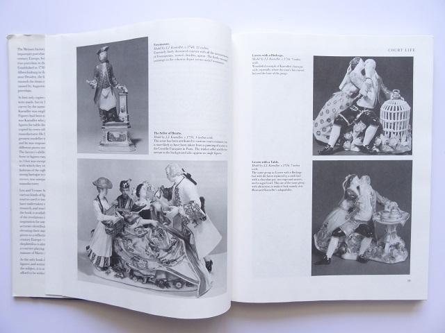 洋書◆マイセン人形の写真集 本 アンティーク フィギュア 陶磁器 工芸品_画像2