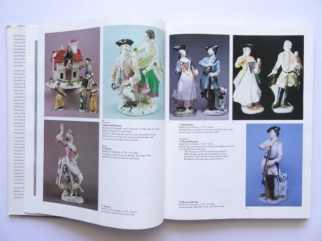 洋書◆マイセン人形の写真集 本 アンティーク フィギュア 陶磁器 工芸品_画像3