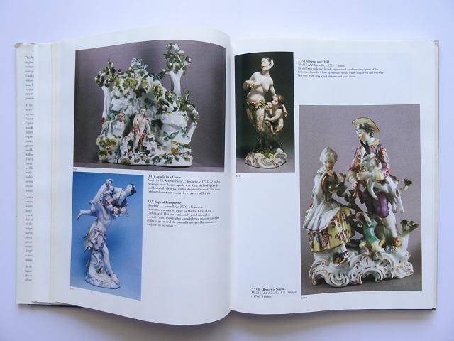 洋書◆マイセン人形の写真集 本 アンティーク フィギュア 陶磁器 工芸品_画像6