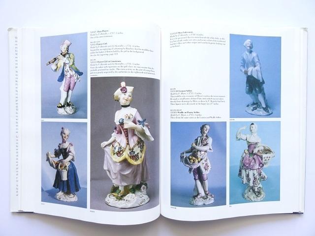 洋書◆マイセン人形の写真集 本 アンティーク フィギュア 陶磁器 工芸品_画像7