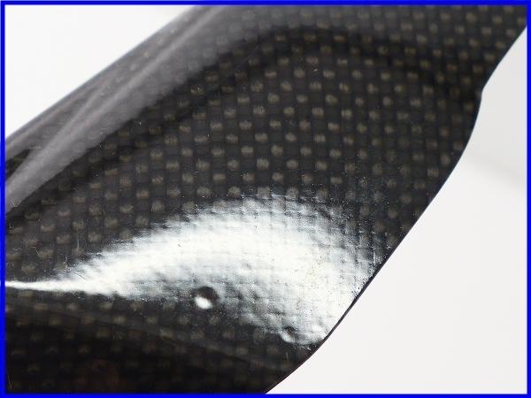 ★ 【M1】良品♪ハイパーモタード1100S MS-Production カーボン フロントフォークガードset♪12,526km♪_画像6