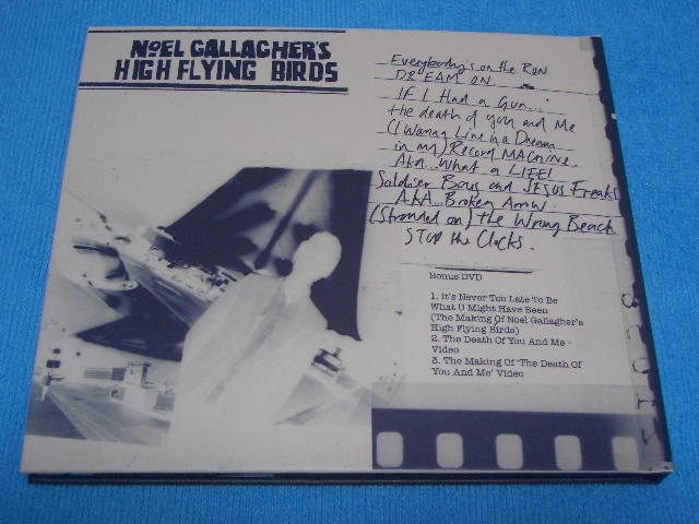 即決★Noel Gallagher★ノエル・ギャラガー【High Flying Birds】国内盤帯付きCD+DVD / 初回生産限定 / 元OASIS / 豪華ブックレット付き_画像4