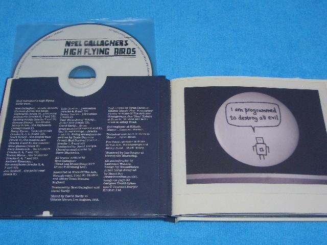 即決★Noel Gallagher★ノエル・ギャラガー【High Flying Birds】国内盤帯付きCD+DVD / 初回生産限定 / 元OASIS / 豪華ブックレット付き_画像5