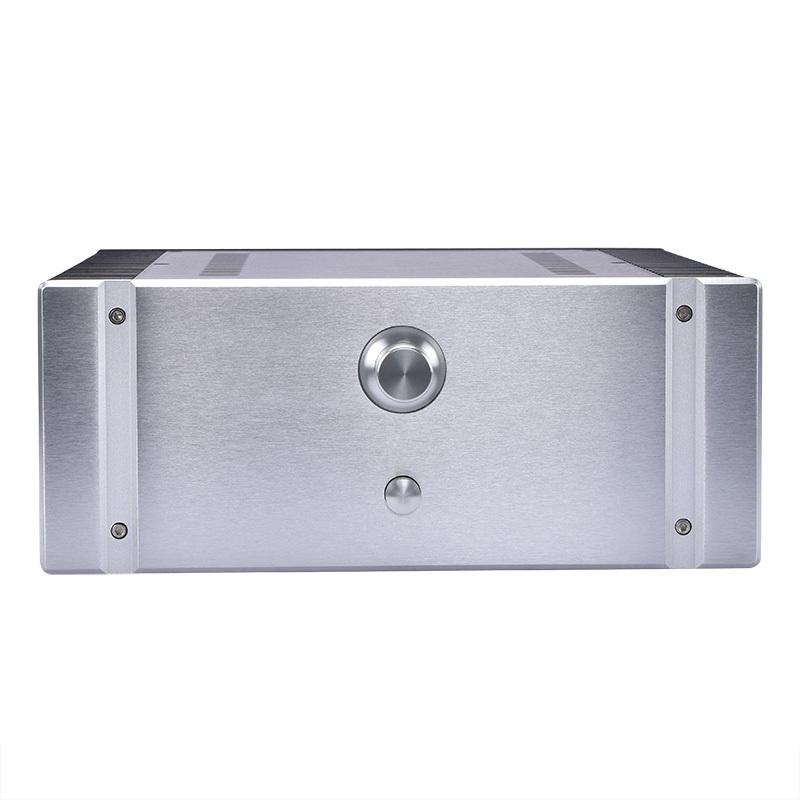 総アルミ製シャーシケース32131両側ヒートシンク 真空管アンプ パワーアンプ デジタルアンプ ヘッドホンアンプ USB DAC PCオーディオ自作に_画像4