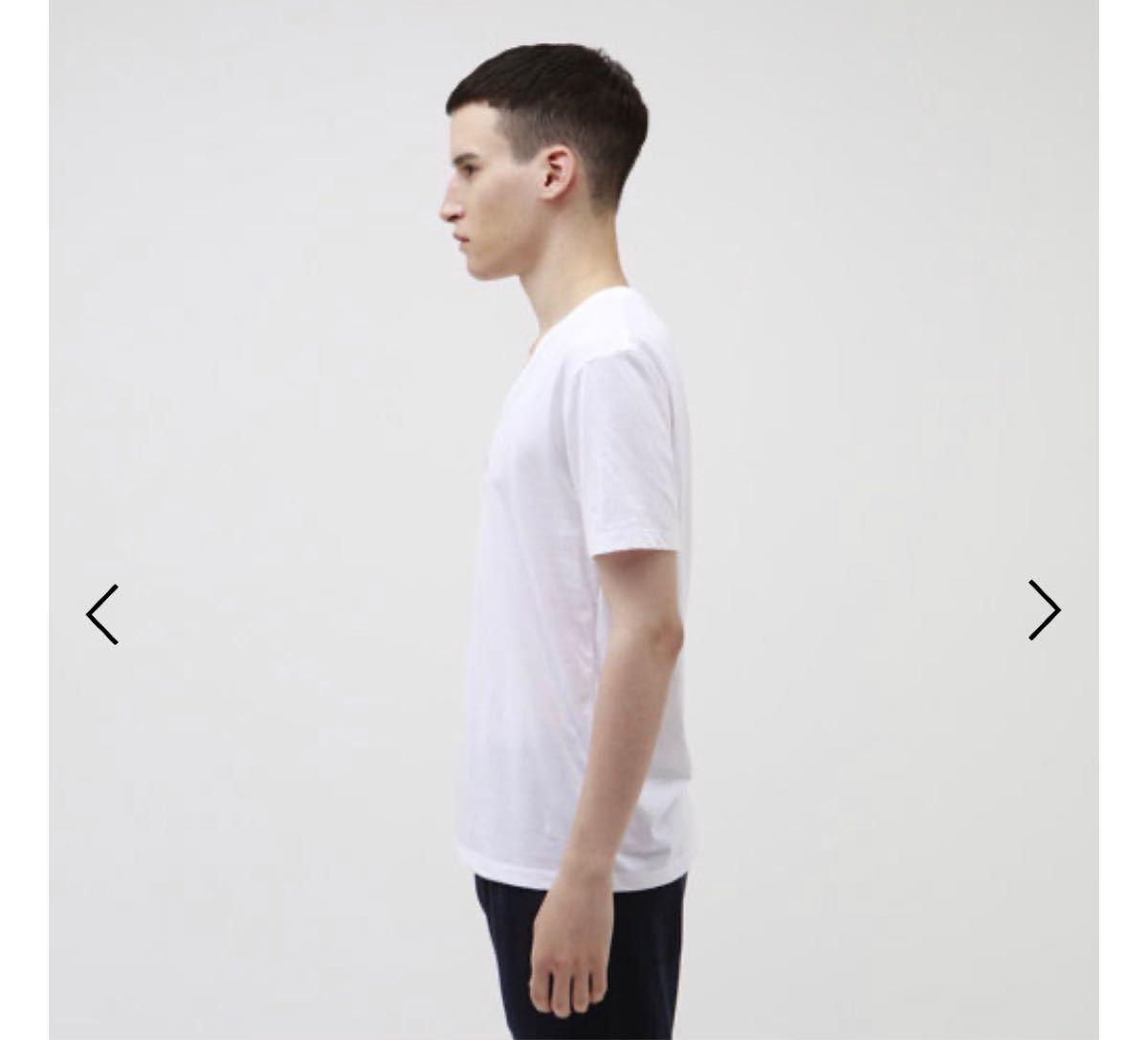 半袖Tシャツ ラブレス Vネック 白 ホワイト M.L 新品未使用