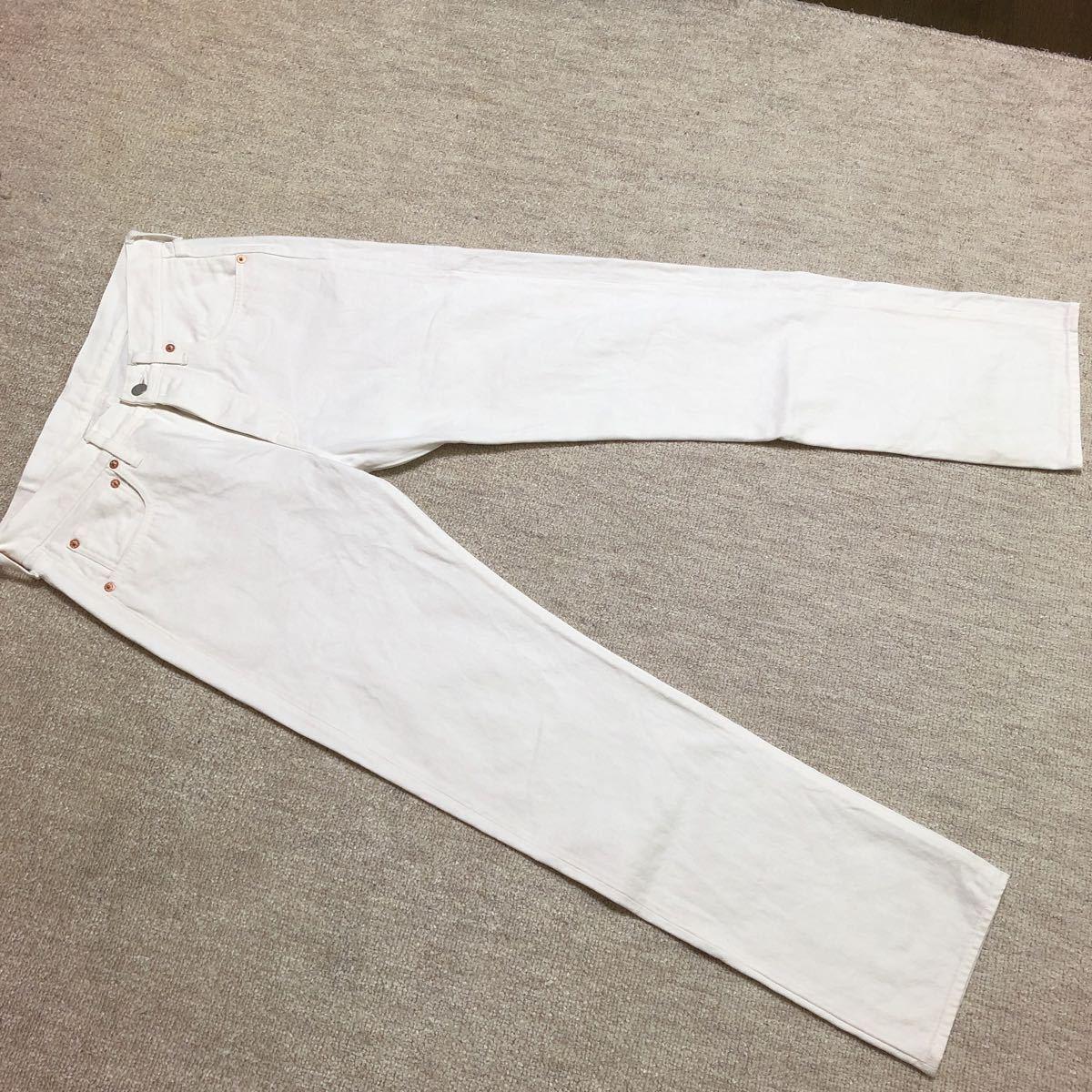 SUGAR CANE Lot265 ホワイトジーンズ W31/検 シュガーケーン バズリクソンズ 東洋 リアルマッコイズ ウエアハウス_画像1