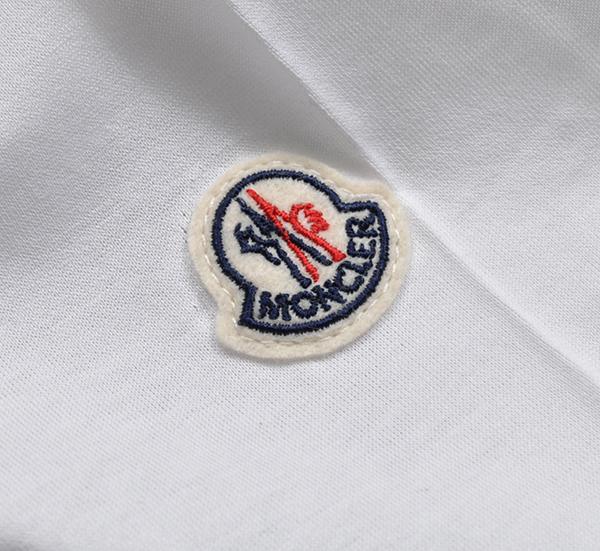 新品6.4万 MONCLER ( モンクレール ) 最高級!大人のハイクオリティーなペイントデザイン!Tシャツ 半袖 (Lサイズ)【直営購入】白_画像5