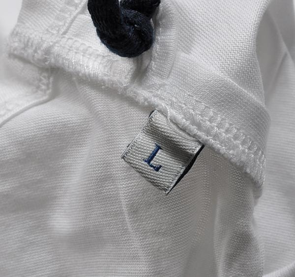 新品6.4万 MONCLER ( モンクレール ) 最高級!大人のハイクオリティーなペイントデザイン!Tシャツ 半袖 (Lサイズ)【直営購入】白_画像8