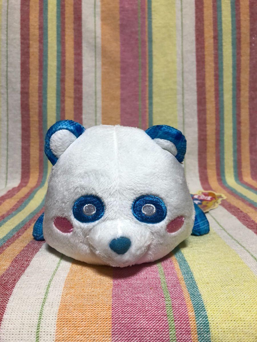 AAA え~パンダ タータンチェックぬいぐるみペンケース ブルー 與真司郎_画像1