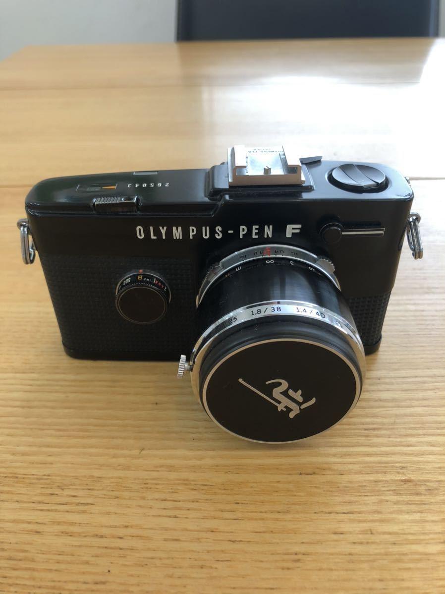 OLYMPUS-PEN F G.Zuiko Auto-S 1:1.4 f=40mm_画像1