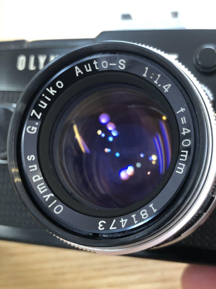 OLYMPUS-PEN F G.Zuiko Auto-S 1:1.4 f=40mm_画像9
