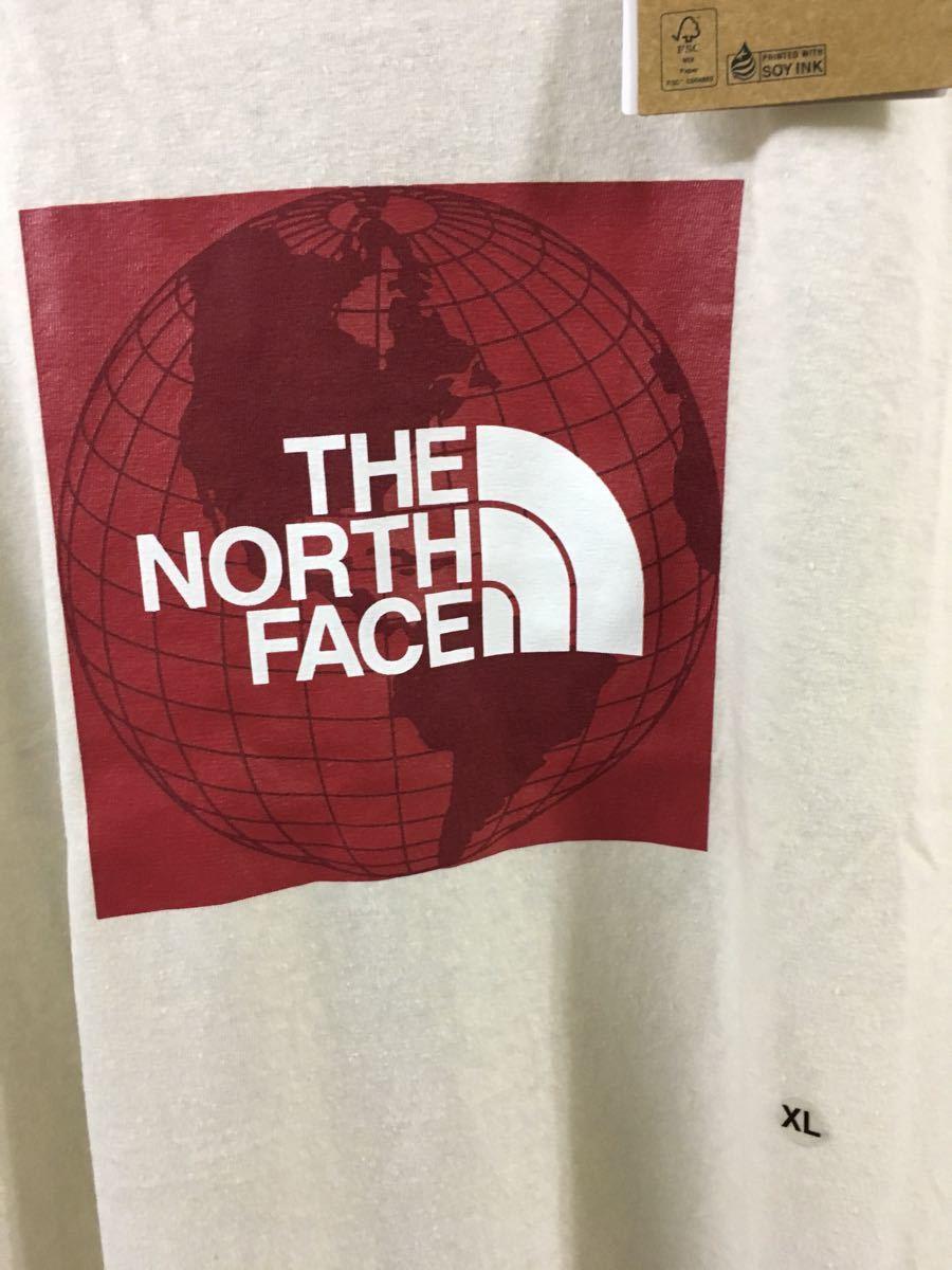 THE NORTH FACE 半袖Tシャツ ボックスロゴ アメリカ限定モデル