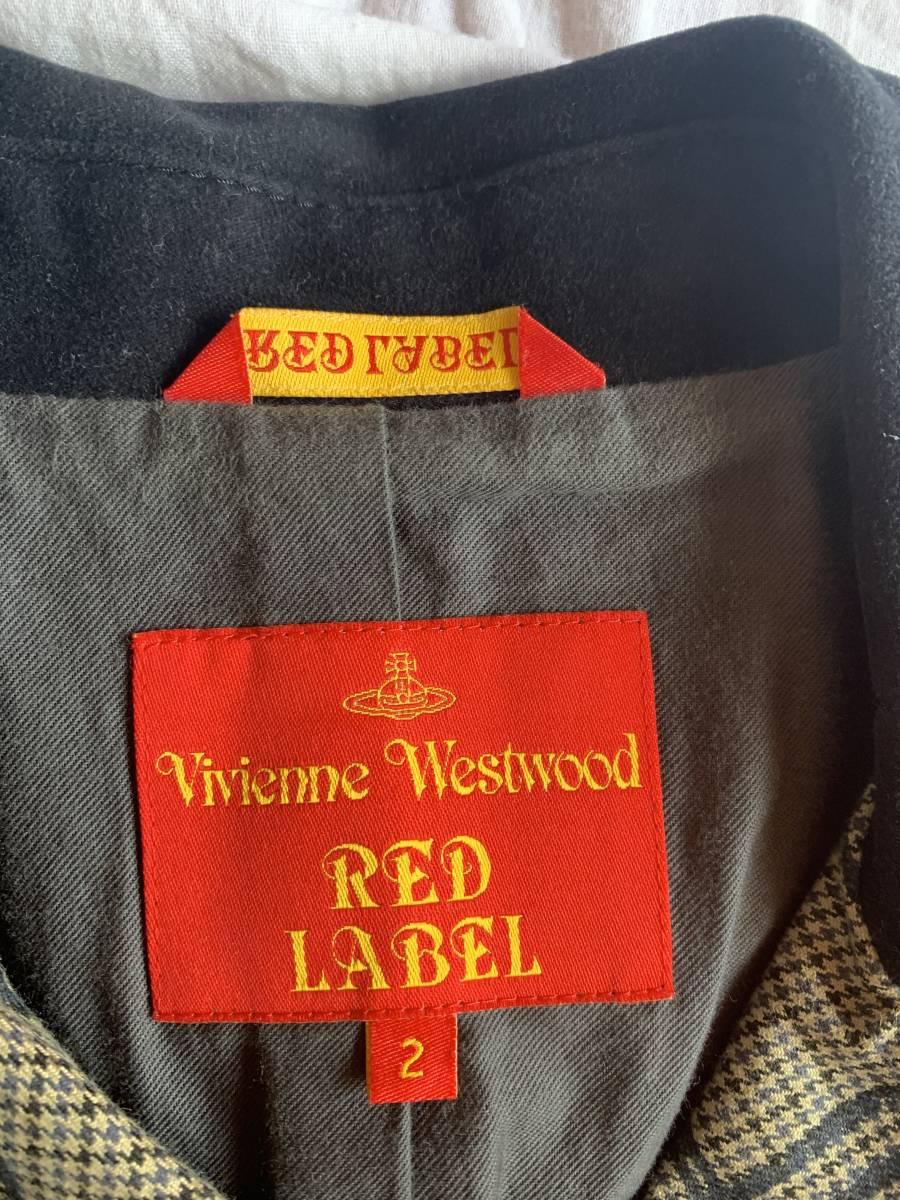 ヴィヴィアンウエストウッド Vivienne Westwood Pコート サイズ2 コーデュロイ 高級