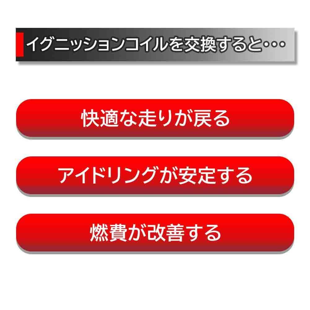 イグニッションコイル ホンダ インスパイア 型式UA5 H10.10~H15.06用 日立 U09001-COIL 1個 30520-P8E-S01相当_商品詳細
