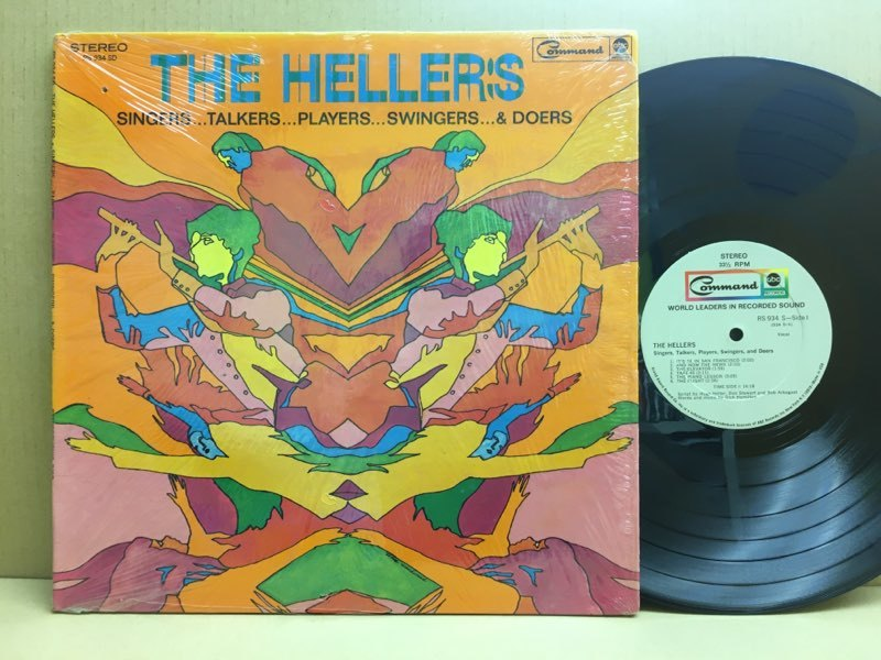 LP The Hellers / Singers…Talkers…Players…Swingers… & Doers USオリジ Command RS934SD 電子コラージュ サイケ モーグ_画像1