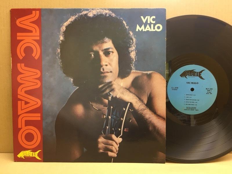 LP Vic Malo / S.T. ハワイ・オリジ Mataele MLP1001 ハワイアン・ソウル~AOR MURO Hawaiian Breaks レアグルーヴ 辺境_画像1