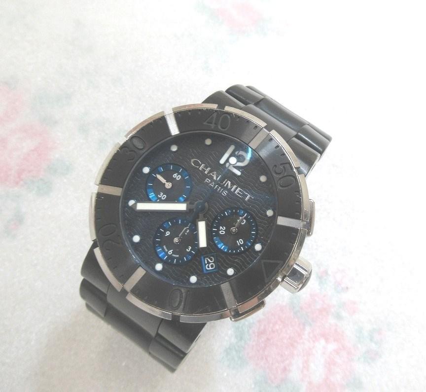 CHAUMET ショーメ クラスワン クロノグラフ XXL メンズ 腕時計 自動巻 裏スケルトン(シースルー)W17291-45B_画像1