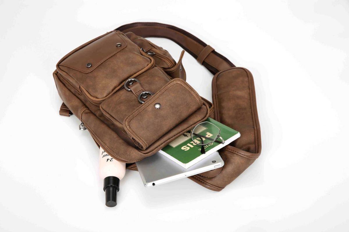 ボディバッグ ショルダーバッグ メンズバッグ 斜め掛けバッグ 高品質  大容量