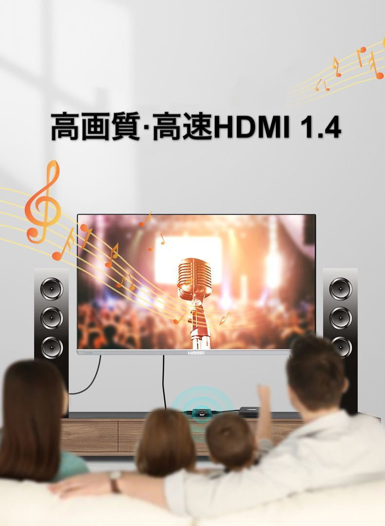 【最新版】hdmi 分配器 切り替え機 HDMIミニスイッチ 切替器 電源不要