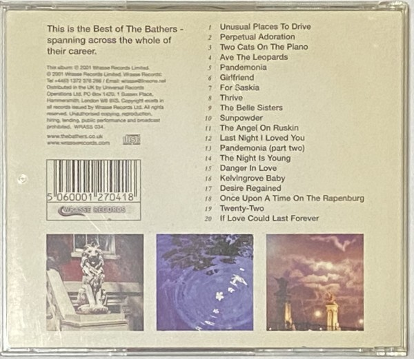 BEST OF THE BATHERS DESIRE REGAINED FRIENDS AGAIN ネオアコ ギターポップ