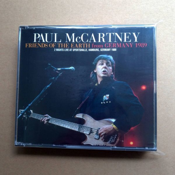 new!! BFP-160CDR1/2/3/4: PAUL McCARTNEY - FRIENDS OF THE EARTH FROM GERMANY 1989_画像1