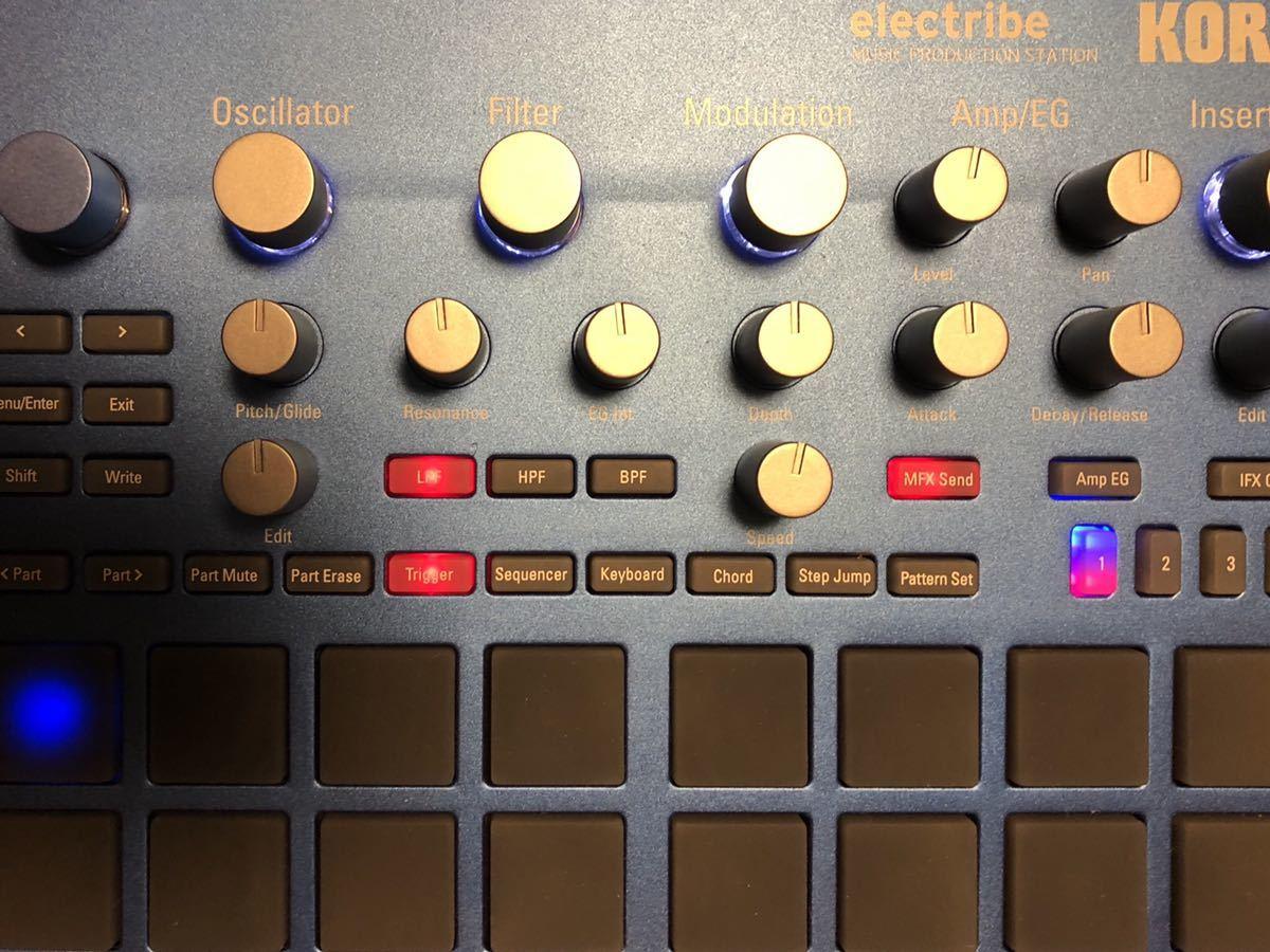 KORG ELECTRIBE2 リズムマシン ドラムマシン エレクトライブ コルグ_画像4