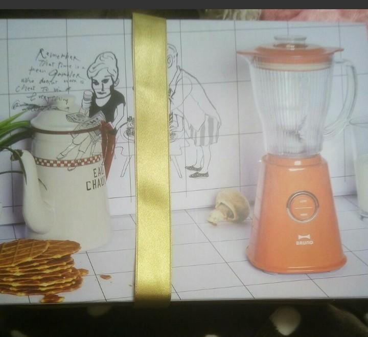ブルーノ コンパクトブレンダー BOE023-OR オレンジ 新品未使用
