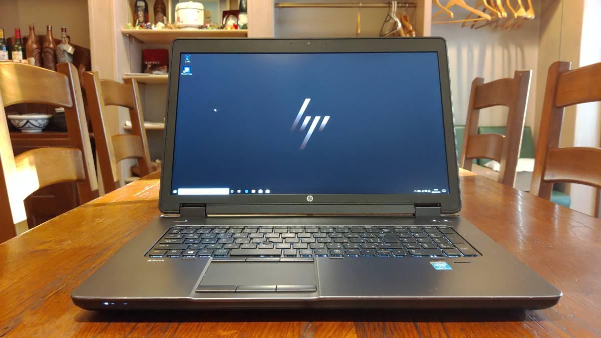 ワークステーション 高速SSD2TB(1TB×2 RAID0) 大画面17.3 HP ZBook 17 Core i7-4800MQ 1