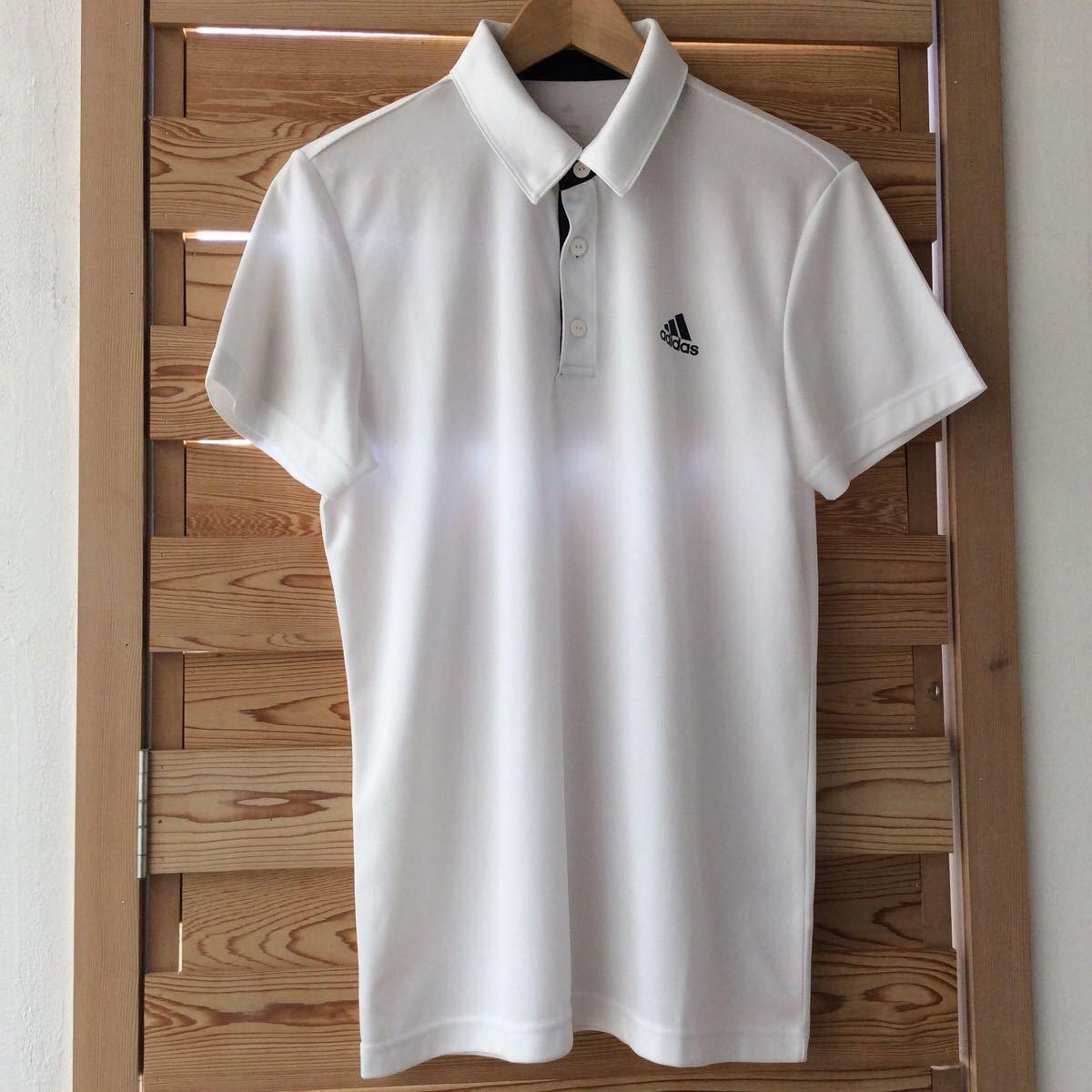 アディダス adidas メンズポロシャツ Lサイズ