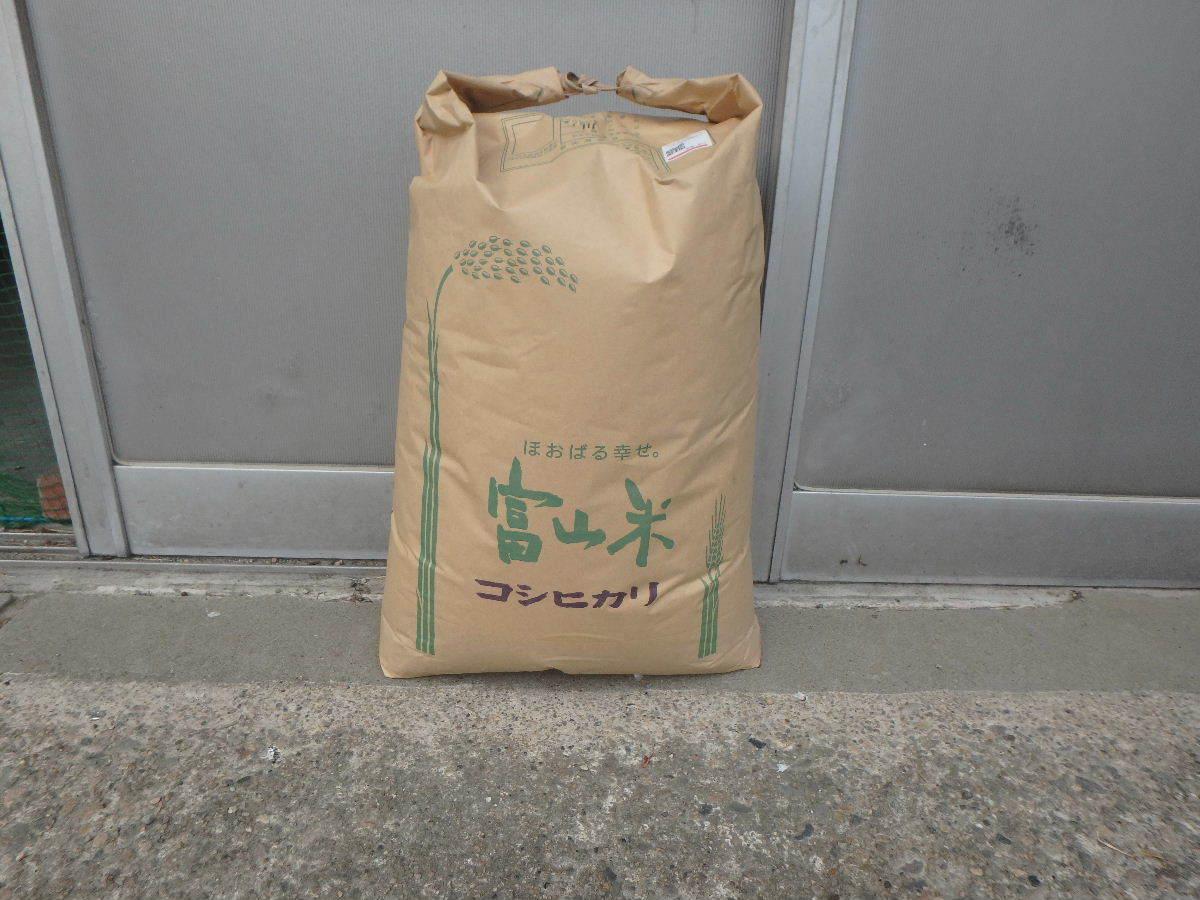 令和元年度 富山県産コシヒカリ 玄米30Kg_画像1