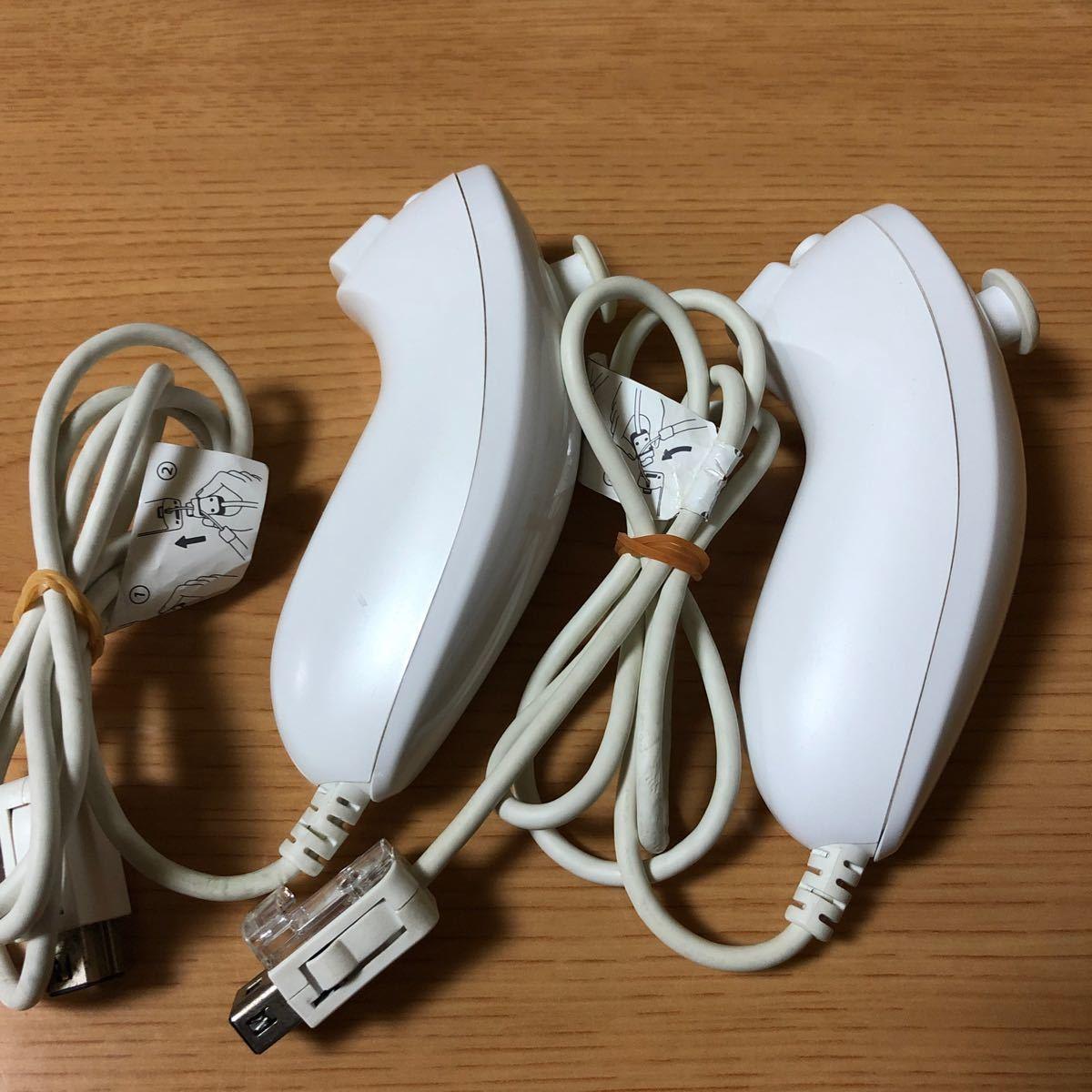 任天堂Wiiヌンチャク ホワイト2個セット