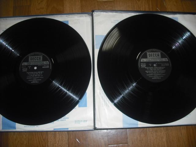 英DECCA SXLG6594-7 アシュケナージ ショルティ指揮 /ベートーヴェン・ピアノ協奏曲全集 ED4small 4LPbox優秀録音盤_画像4