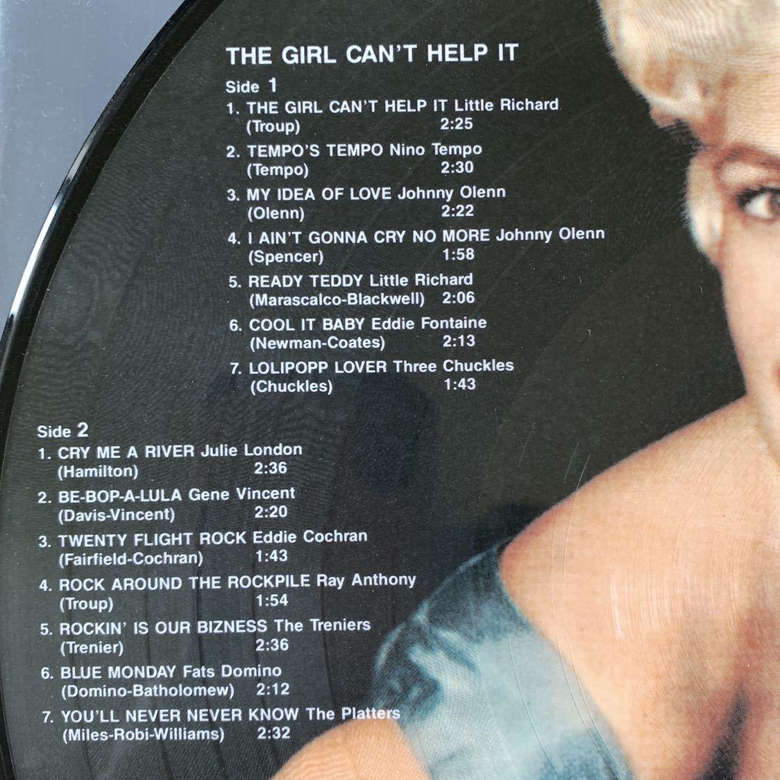 【値下】LP『女はそれを我慢できない』サントラ The Girl Can't Help It ロカビリー 、ジェーン・マンスフィールド、Jayne Mansfield_画像3