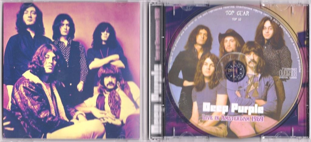 Deep Purple - Live In Amsterdam 1969 ボーナス・トラック1曲収録CD
