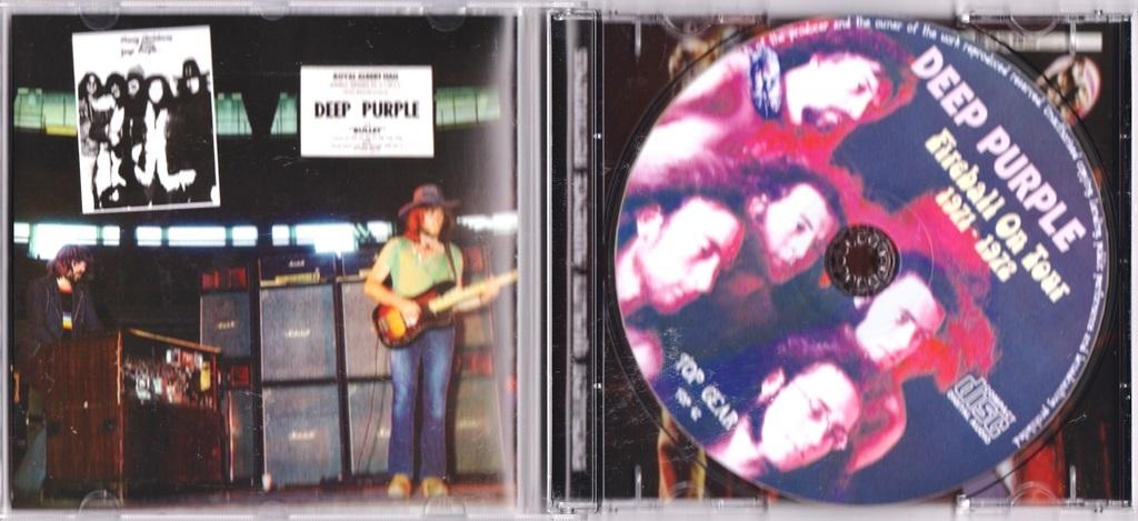 Deep Purple ディープ・パープル - Fireball On Tour 1971 - 1972 CD
