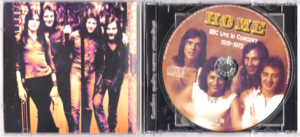 Home (Laurie Wisefield = Ex Wishbone Ash, Cliff Williams = AC/DC) BBC Live In Concert 1972-1973 CD