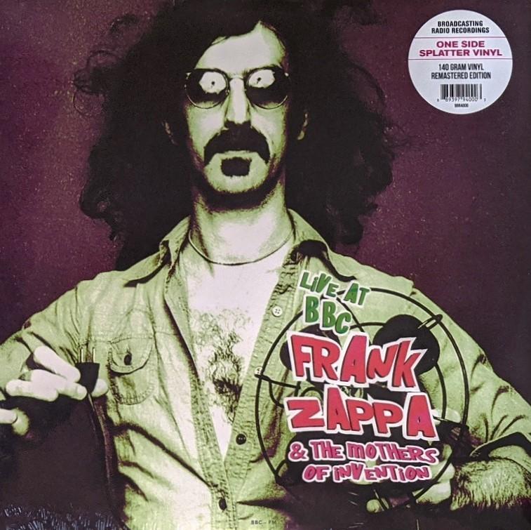 Frank Zappa & The Mothers Of Invention - Live At BBC 限定リマスター再発マルチ・カラー・スプラッター・アナログ・レコード