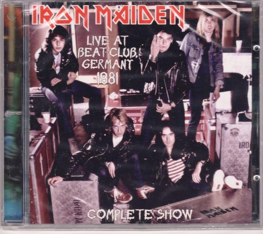 Iron Maiden アイアン・メイデン - Live At Beat-Club Germany 1981 限定リマスターCD-R