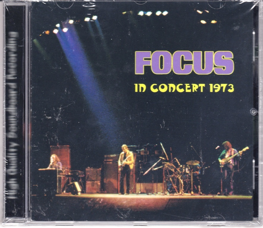 Focus フォーカス - In Concert 1973 CD