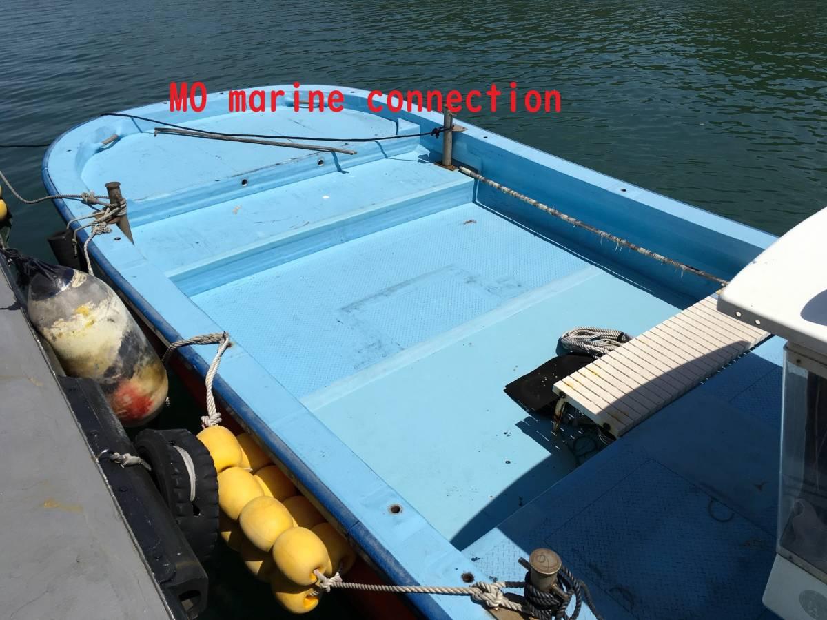 「小型船舶 作業船 4.9トン 12+2名 前後スラスター付き」の画像3