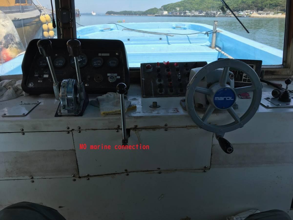小型船舶 作業船 4.9トン 12+2名 前後スラスター付き_画像5