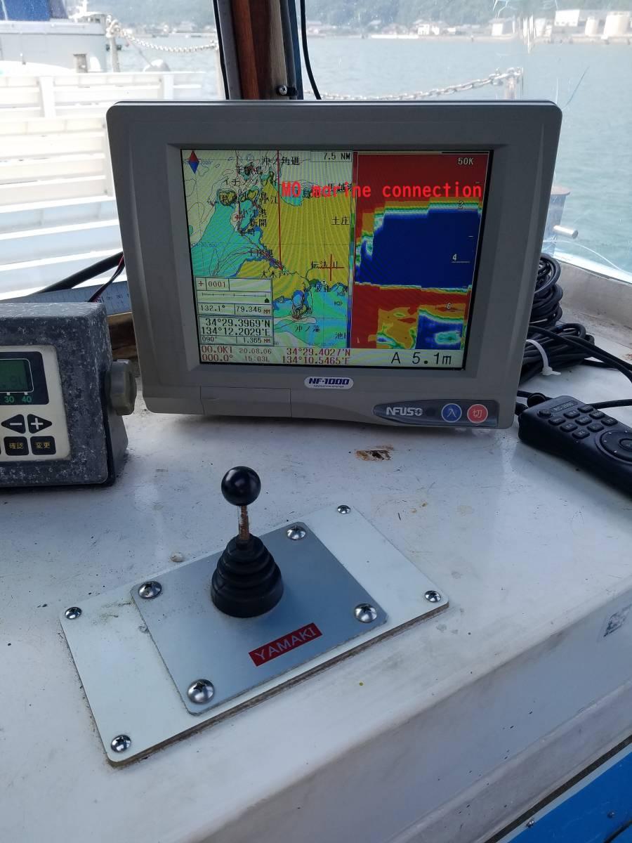 小型船舶 作業船 4.9トン 12+2名 前後スラスター付き_画像7
