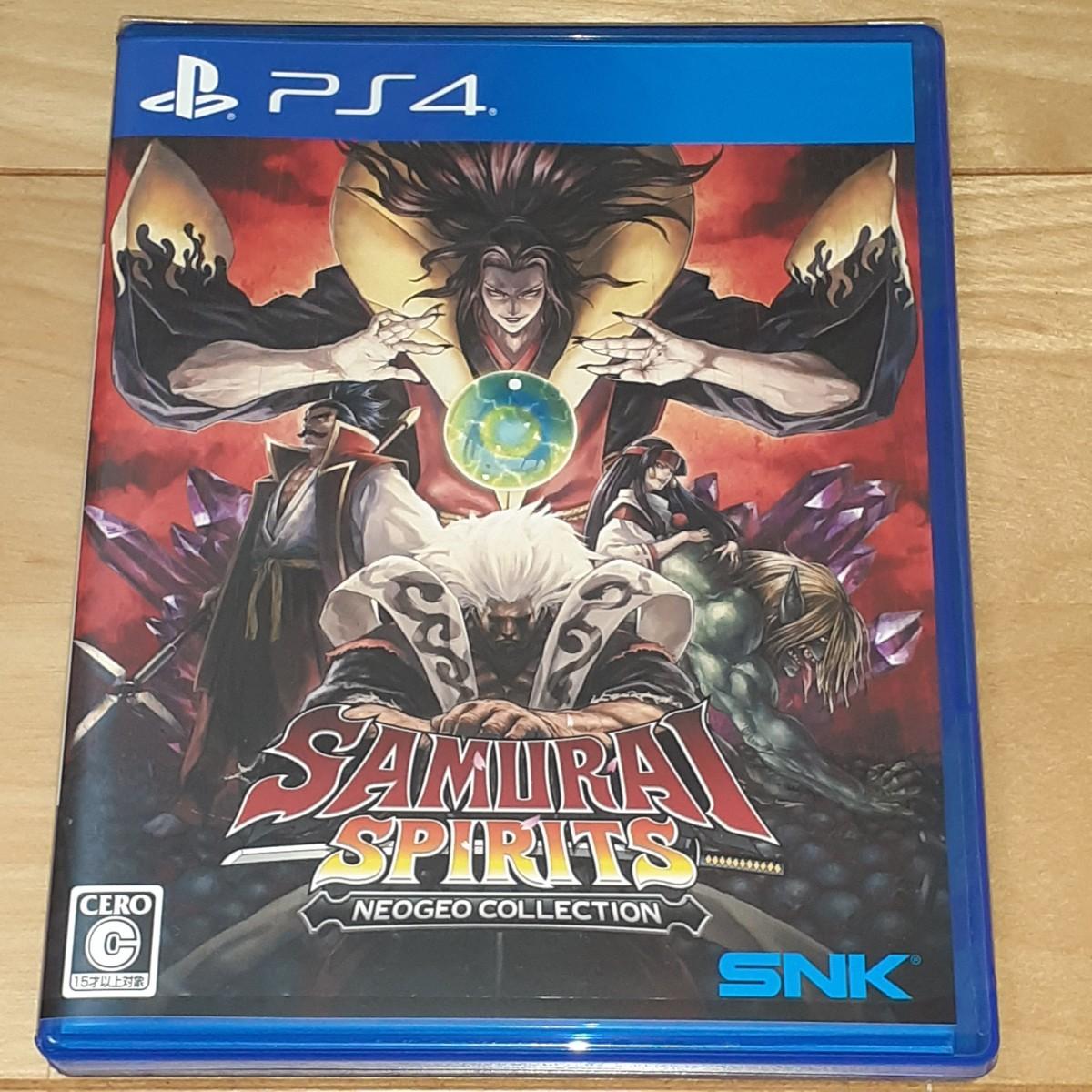 PS4 サムライスピリッツ ネオジオコレクション PS4版 PLJM-16598