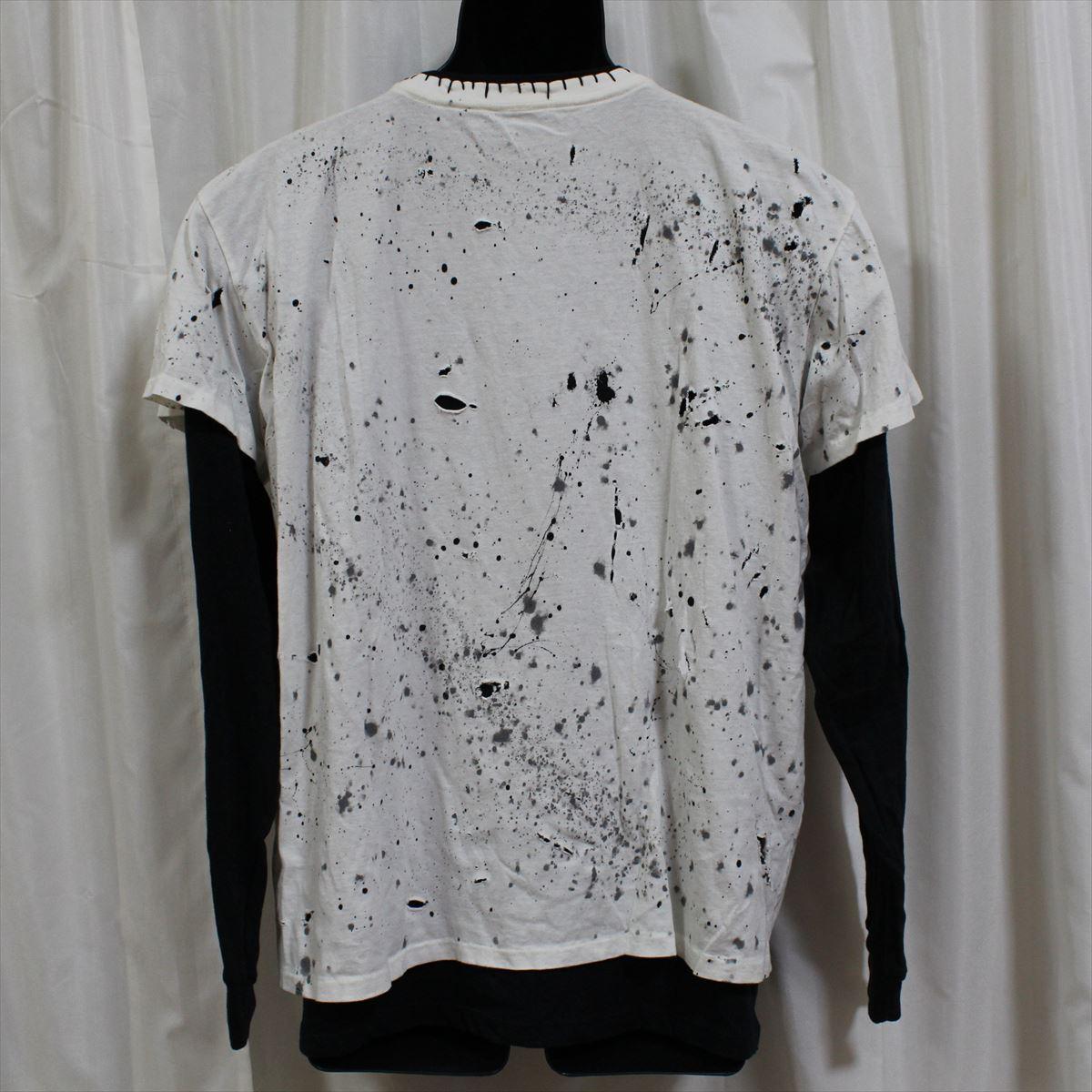 アイコニック ICONIC COUTURE ローリングストーンズ ベロT Mサイズ メンズ長袖Tシャツ THE ROLLING STONES 新品_画像4