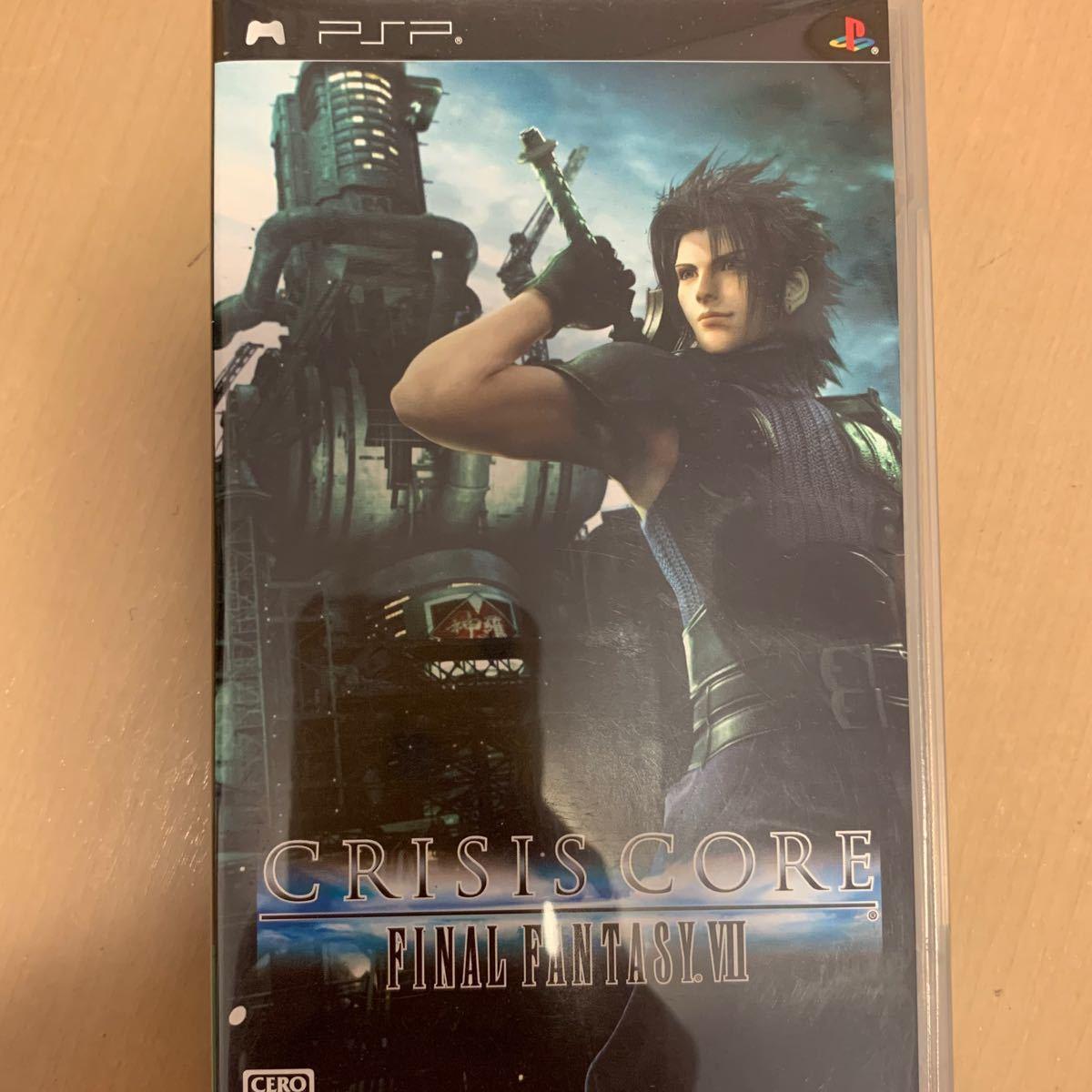 PSPソフト ファイナルファンタジー7 クライシスコア